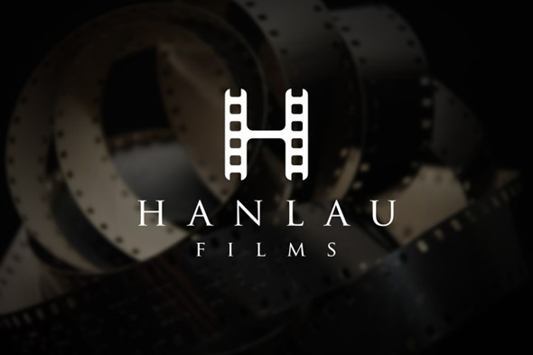 Hanlau Films Logo Design